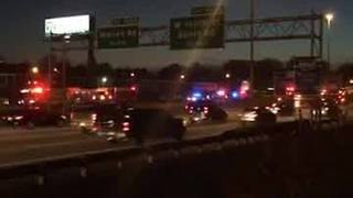 Woman struck and killed by bus on I-90 eastbound - Video