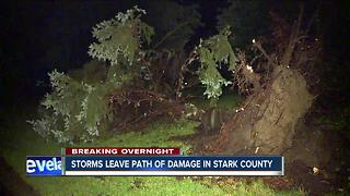 Stark County storms - Video