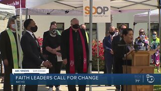 Faith leaders call for change