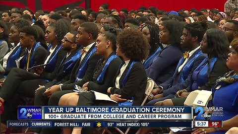 More than 100 graduate from Year Up Baltimore