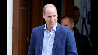 Prince William praises 'extraordinary' fire fighters