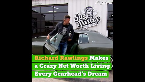 Richard Rawlings Makes a Ridiculous Net Worth Living Every Gearhead's Dream
