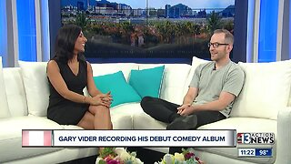 Comedian Gary Vider to record his debut comedy album