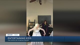 Local company offering online shows for kids