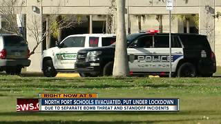 Bomb threat prompts evacuation at North Port HS - Video