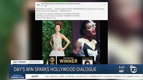 Andra Day's win sparks Hollywood dialogue