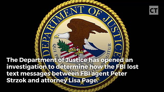 DOJ Opens Huge Investigation Into FBI - Video