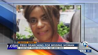 PBSO searching for missing woman - Video