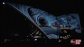 VIDEO: Sydney Opera House lights up in new nightly light show celebrating culture - Video