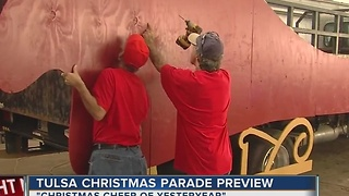 Preview Of The Tulsa Christmas Parade - Video