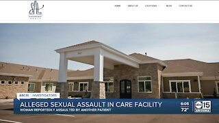 Police investigating an alleged sex assault at a care facility