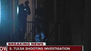 Tulsa Police investigate South Tulsa overnight shooting - Video