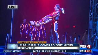 The Water Circus comes to Fort Myers -- 7:30am live report - Video