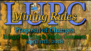 20180411 LUPC Mining Rule Changes