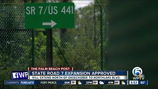 Controversial State Road 7 project approved by Army Corps
