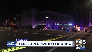 One killed in drive-by shooting