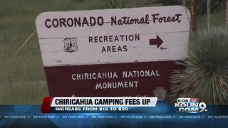 Camping fee at Chiricahua  National Monument rising - Video