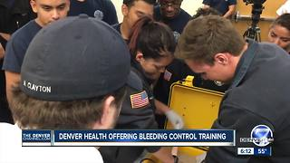 Denver Health offers emergency responder training - Video