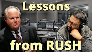 The MANY things we can learn from RUSH LIMBAUGH!!!