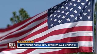 Florida veterans get new memorial months after theirs was taken down - Video