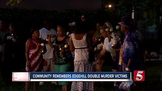 Vigil Held For Mother, Son Killed In Shooting