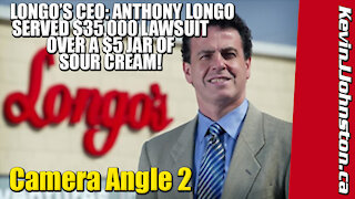 Longo's Grocery Store Gets Served Lawsuit Over $5 Tub of Sour Cream by Kevin J Johnston - CAMERA 2