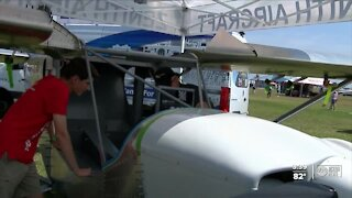 Lakeland students build plane for people with physical disabilities