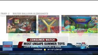 Most unsafe Summer toys of 2018 - Video