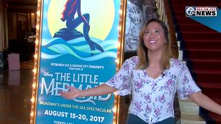 Talking to Diana Huey, star of 'The Little Mermaid' about the show, diversity - Video