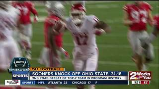 Sooners react to defeat of 2nd-ranked Ohio State - Video