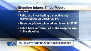 Lockport police investigating Christmas eve shooting - Video