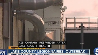 One dead after outbreak of Legionnaires' disease in Lake County - Video