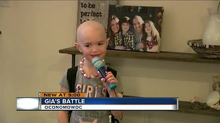 Oconomowoc girl uses superhero powers to battle Aplastic Anemia - Video