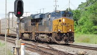 CSX Eastbound Autorack Train From Marion, Ohio Part 3 Going Forwards
