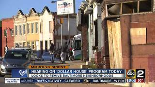Baltimore City Council debating to bring back dollar house program - Video