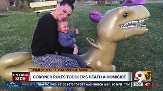 Mother in infant homicide case says she doesn't know how toddler died