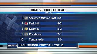 Top 10 high school football teams in Kansas City: October 27 - Video