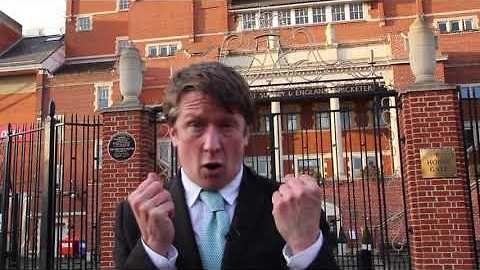 Jonathan Pie Complains About Having to Report on Cricket With More Important News to Discuss