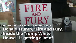 Anti-Trumpers Realize Massive Mistake When Fire and Fury Book Comes in the Mail - Video