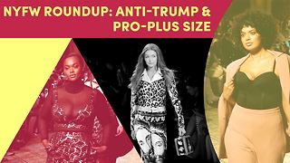 NYFW makes a statement (And Gigi Hadid lead the pack)! - Video