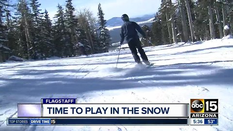 Snowbowl opens for the season Friday