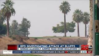 BPD investigate alleged attack at the Bluffs - Video