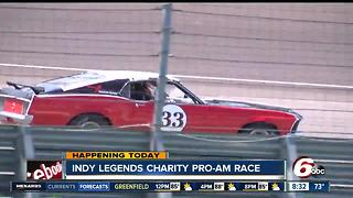 Vintage cars are center stage Saturday at IMS - Video