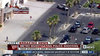 Helicopter video of shooting in Centennial Hills - Video