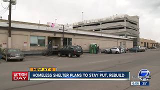 RiNo homeless shelter to stay, rebuild - Video