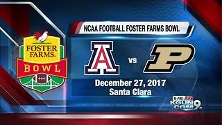 Arizona headed to Foster Farms Bowl - Video