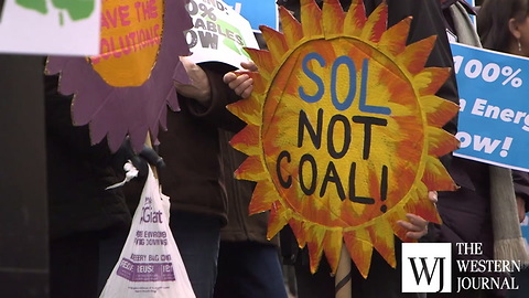Climate activists rally in Maryland capital, supporting 100% green energy legislation