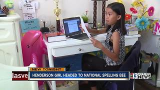 Henderson girl preparing to represent Nevada in national spelling bee