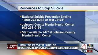 Resources to stop suicide - Video