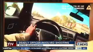 Las Vegas police talk about shooting in downtown area - Video